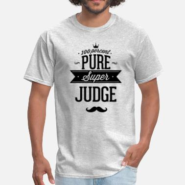 Censored 100 percent pure super judge - Men's T-Shirt