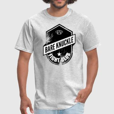 Knuckle bare knuckle fight club shield - Men's T-Shirt