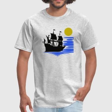 Sailing Boat Pirate Cruise - Men's T-Shirt
