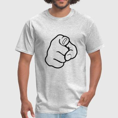 Hand Touch You Finger - Men's T-Shirt