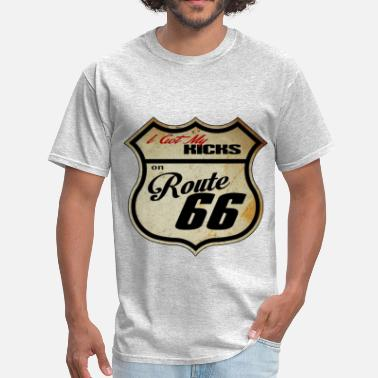 Route Route 66 Rustic - Men's T-Shirt