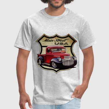 Main Street Hot Rod - Men's T-Shirt