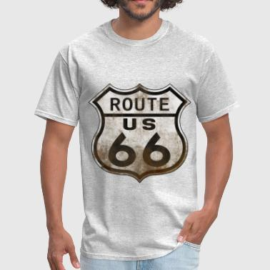 Route 66  n - Men's T-Shirt