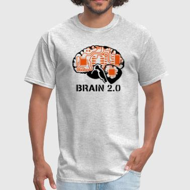 brain 2.0 - Men's T-Shirt