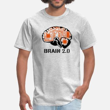 Offspring brain 2.0 - Men's T-Shirt