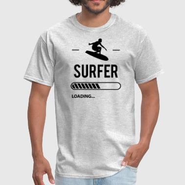 Boy Loading Surfer Loading - Men's T-Shirt