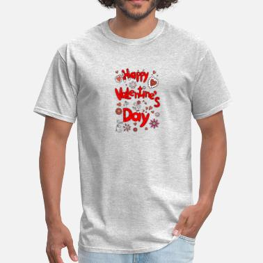 Day 6 Happy Valentines Day 6 - Men's T-Shirt