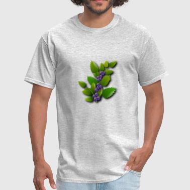 blueberries - Men's T-Shirt