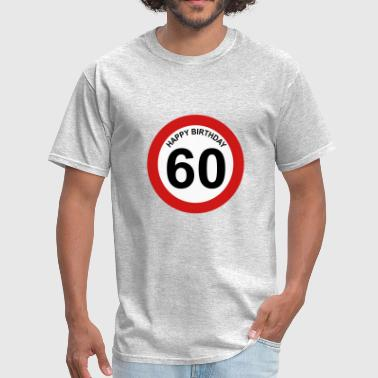 60th birthday - Men's T-Shirt