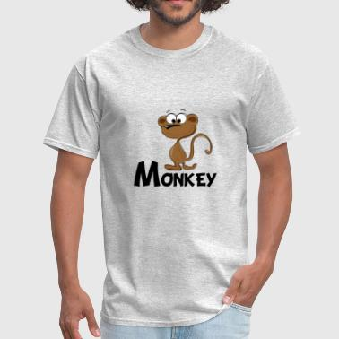 Monkey Cartoon Cartoon Monkey - Men's T-Shirt