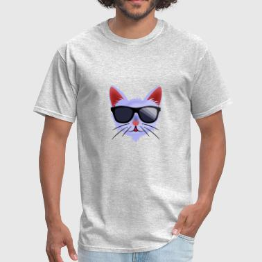 Mr. Cool Cat. To cool for every situation  - Men's T-Shirt