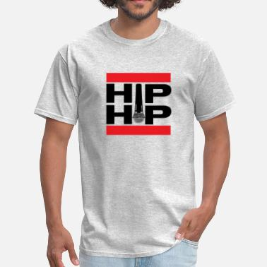 Rapper Hip Hop Microphone - Men's T-Shirt