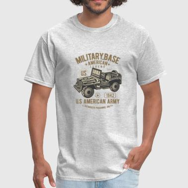 Indian Army American Army Jeep - Men's T-Shirt