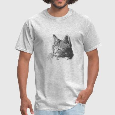 Face of a cat - Men's T-Shirt