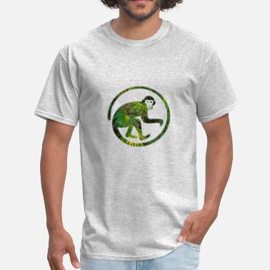 Jungle Ape monkey jungle - Men's T-Shirt