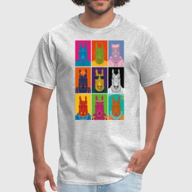 Bojack Horseman Art Pop - Men's T-Shirt