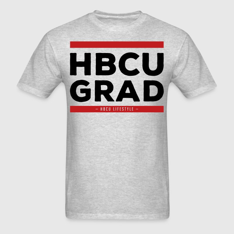 HBCU Grad - Old School Hip Hop - Men's T-Shirt
