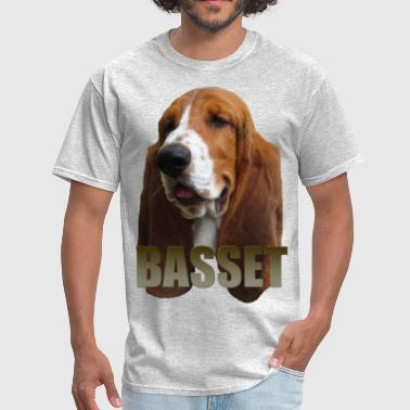 Basset Hound Dad Basset Hound - Men's T-Shirt