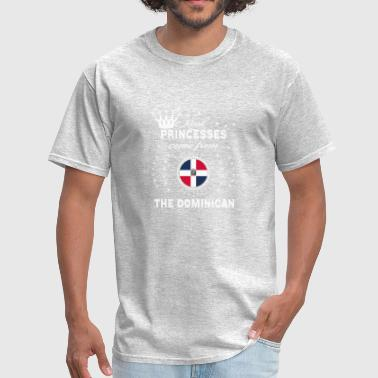 queen love princesses THE DOMINICAN REPUBLIC - Men's T-Shirt