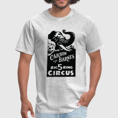 Vintage Circus Carson and Barnes Advertising - Men's T-Shirt