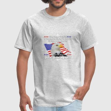 I Am American I Am An American Shirt - Men's T-Shirt