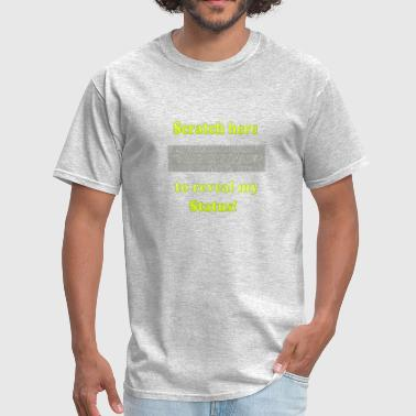 Statues Status - Men's T-Shirt