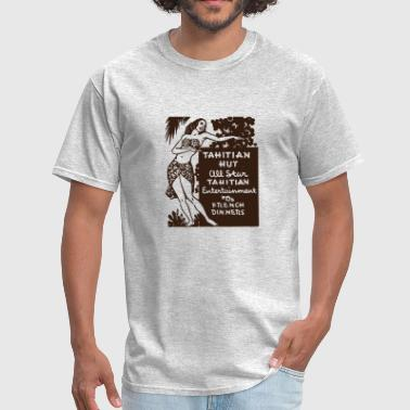 Tahitian Hut - Men's T-Shirt