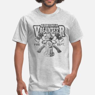 Volunteer Volunteer firefighter - Men's T-Shirt