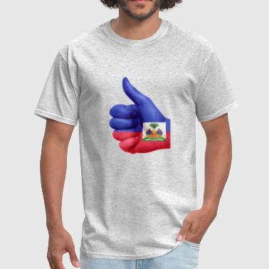 Haiti Flag haiti - Men's T-Shirt
