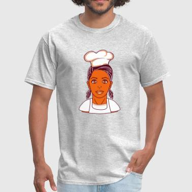Sexy Chef cook cook bbq apron cook apron delicious hunger ea - Men's T-Shirt