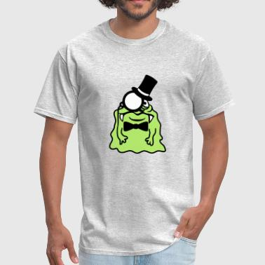sir gentleman gentleman cylinder monocle rich glib - Men's T-Shirt