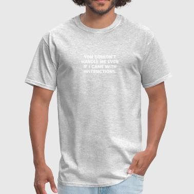 Instructions - Men's T-Shirt