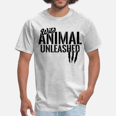 Training Lions wild animal unleashed - Men's T-Shirt