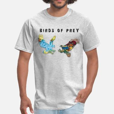 Cat Souls Birds Of Prey - White Shirts Edition - Men's T-Shirt