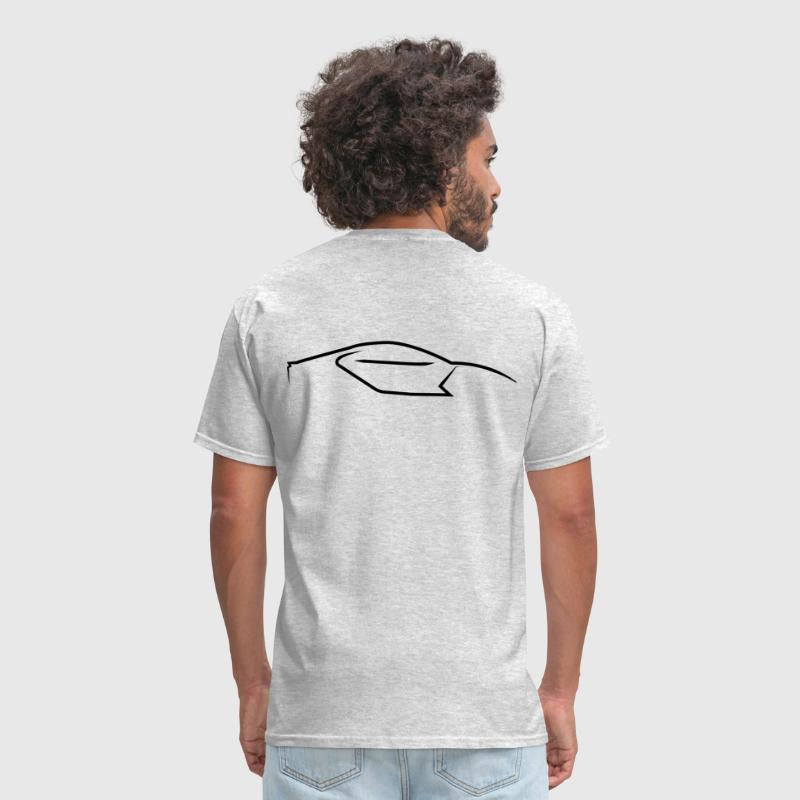 Supercar Side Logo - Men's T-Shirt