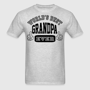 World's Best Grandpa Ever - Men's T-Shirt
