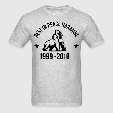Rest In Peace Harambe - Men's T-Shirt