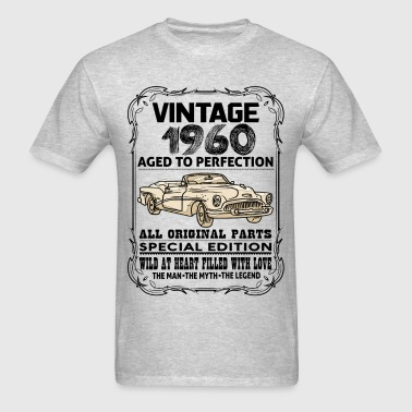 VINTAGE 1960-AGED TO PERFECTION - Men's T-Shirt