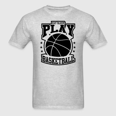 Eat Sleep Play Basketball - Men's T-Shirt