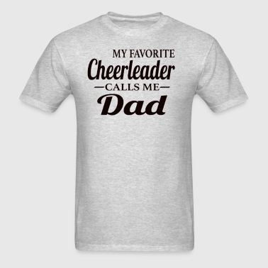 Cheerleader Dad - Men's T-Shirt