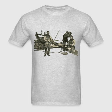 Vintage East River Divers with Diving Helmets - Men's T-Shirt