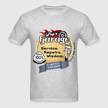 pops garage - Men's T-Shirt