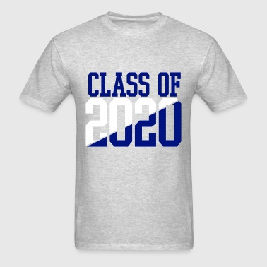 CLASS OF 2020 WHITE AND BLUE - Men's T-Shirt