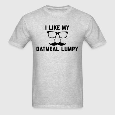 Oatmeal Lumpy - Men's T-Shirt