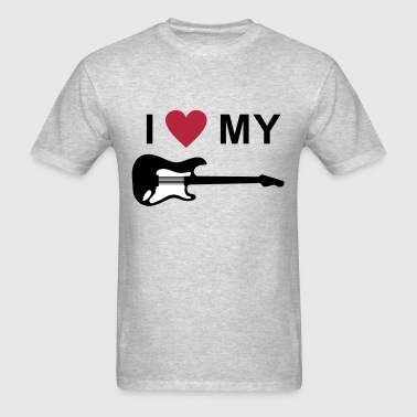 I love my guitar - Men's T-Shirt