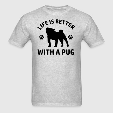 pug designs - Men's T-Shirt