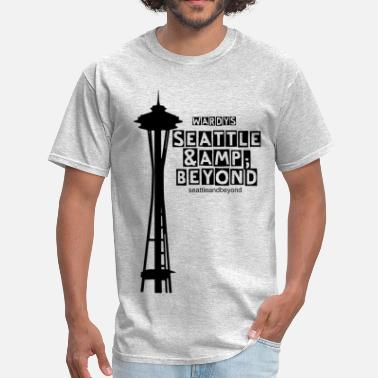Space Needle Seattle Space Needle - Men's T-Shirt