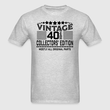 Vintage 40th Birthday - Men's T-Shirt