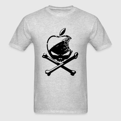 I Apple Skull Cool - Men's T-Shirt