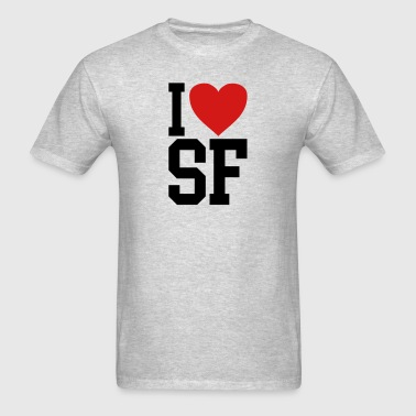 I love SF - Men's T-Shirt